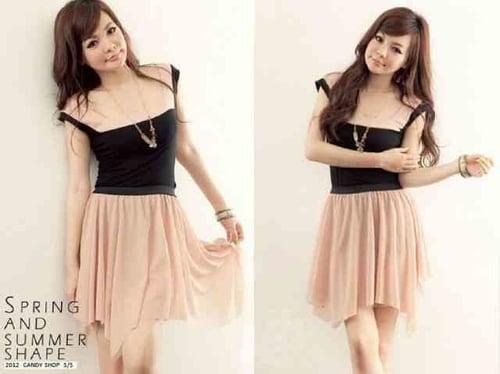 [SALE !!! Dress Cappucino LT] Dress wanita spandex cappucino