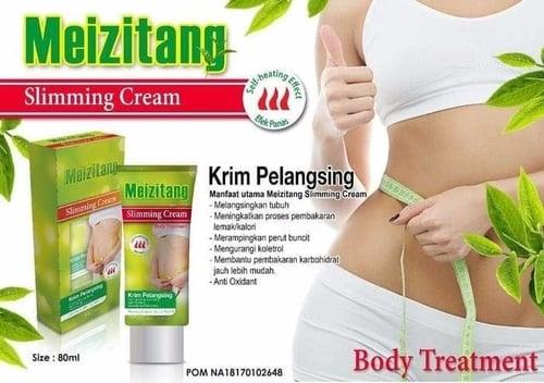 [ GEL / CREAM KRIM PELANGSING ] Meizitang Slimming Cream