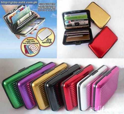 Card Caddy DOMPET ANTI AIR - KARTU KREDIT-wallet