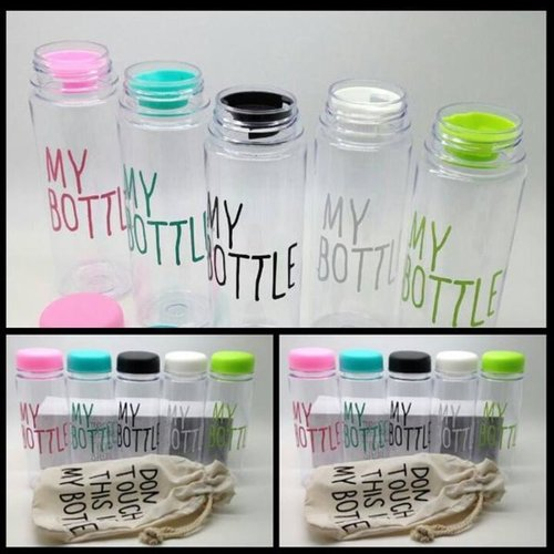 MY BOTTLE / Infused water / Botol minum Bahan plastik