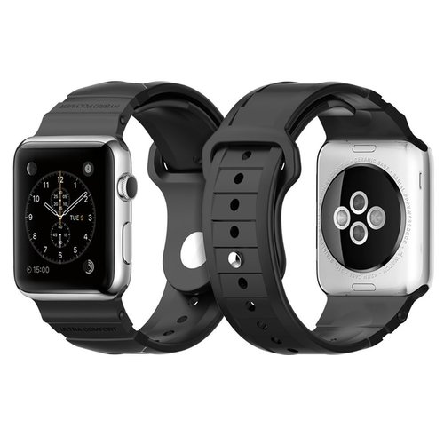 harga SPIGEN Rugged Band Apple Watch 42mm  BLACK Ralali.com