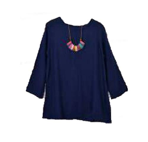 TERLARIS!![Blouse Ladsey Broken navy SW] blouse wanita rayon bangkok navy
