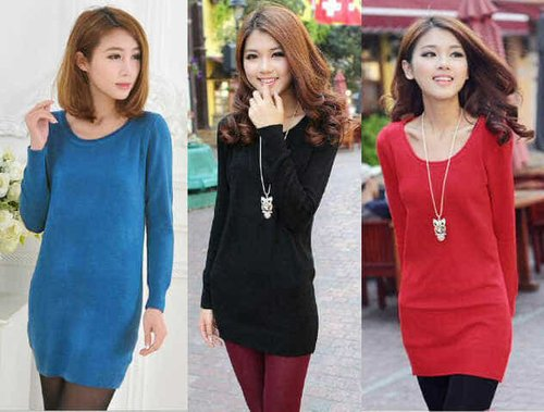 TERLARIS!![Blus pevita knit FT] blouse wanita softknit hitam dan merah