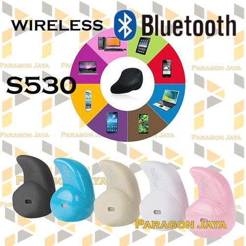 harga Wireless Bluetooth Earphone Headset S530 Ralali.com