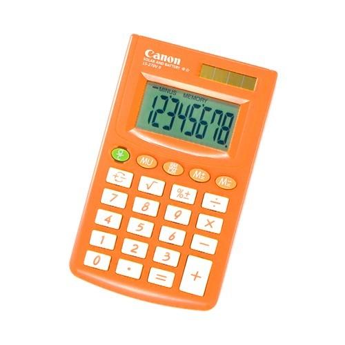 Canon Kalkulator 8 Digit LS 270V II Orange