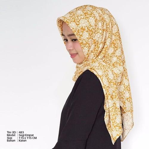 Jilbab Motif Square Tm-483