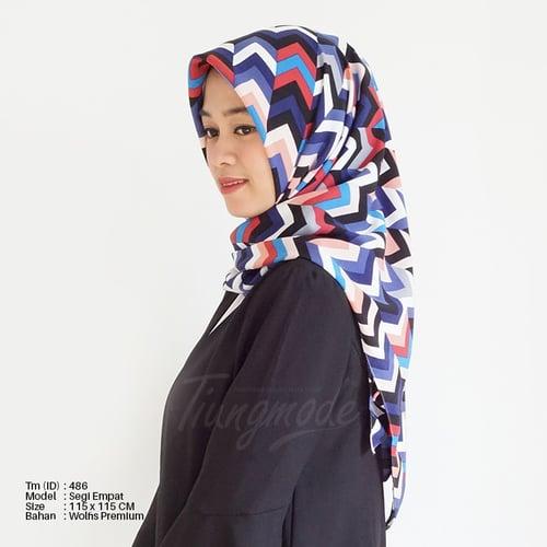 Hijab Square Tiung Motif Tm-486