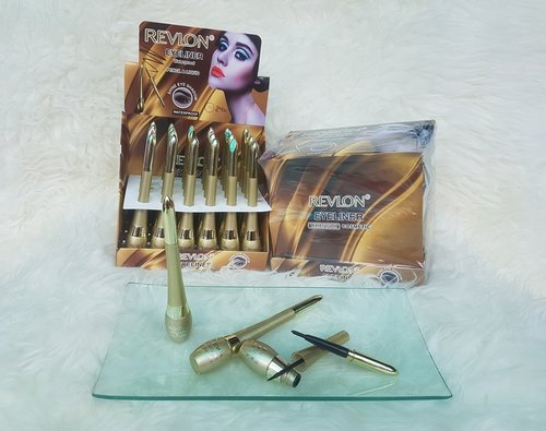 REVLON Eyeliner 2in1 Duo Gold Liquid Plus Crayon