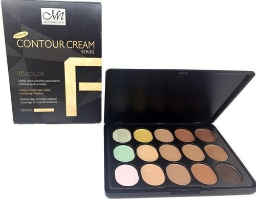 MENOW Bronzer And Highlighter Contour Cream 15 Colors