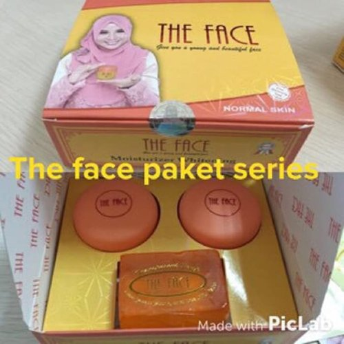 THE FACE 3in1 Whitening Cream Set