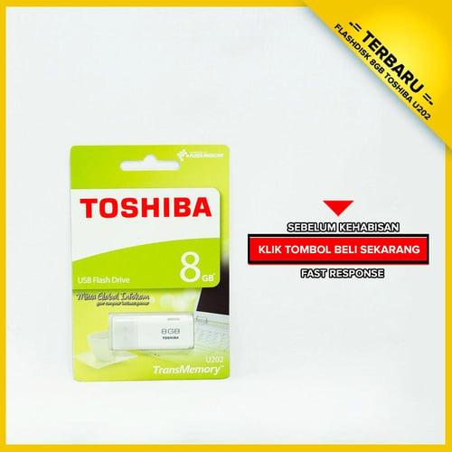 TOSHIBA Flashdisk 8 GB GARANSI 1 BULAN