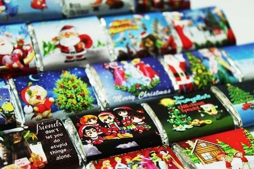 Christmas Chocolate / X-Mas Chocolate (Coklat Natal)
