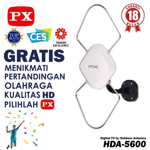 harga PX Digital TV Indoor/Outdoor Antena HDA 5600 Ralali.com