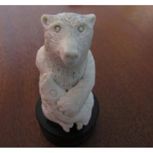 Patung Tulang Motif Beruang 100488