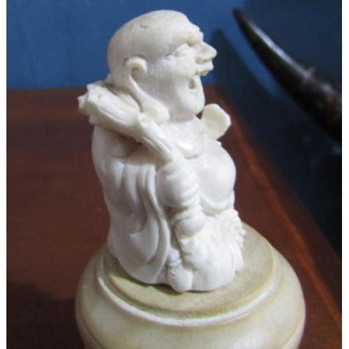 Patung Tulang Motif Budha 100493
