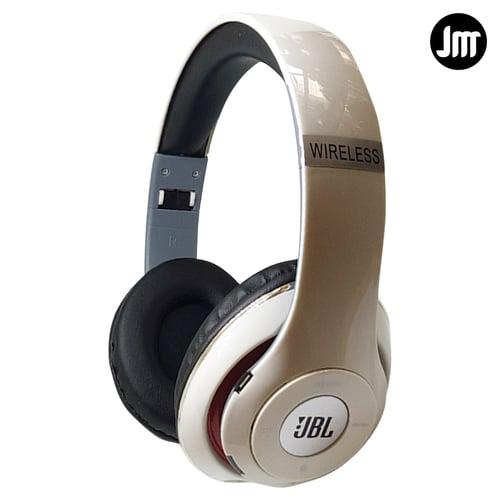 Headphone Headset Earphone Handsfree OEM JBL YX-010 Extra Bass - Putih Free Spinner