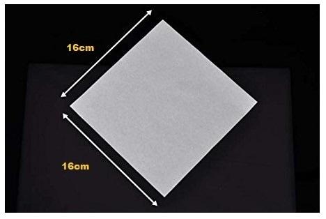 Diguo Chemex Coffee Paper Filter Kertas Filter Kopi DG-1-40W Square
