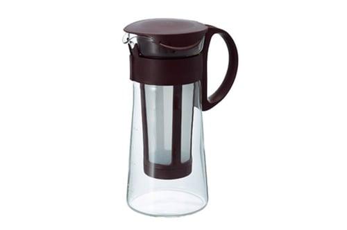 HARIO Mizudashi Glass Coffee & Tea Pot Mini Brown MCPN-7CBR 600mL