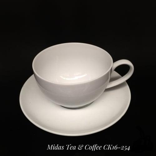 MIDAS Coffee and Tea Cup Ivory White 350ml CK16 254