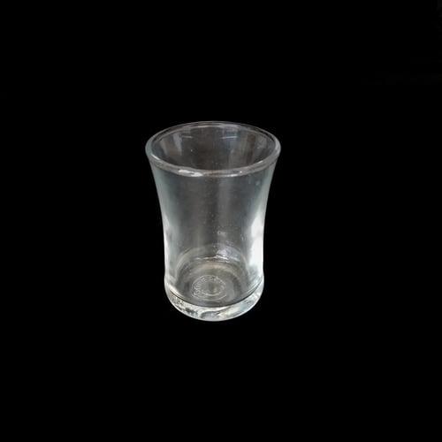 Tall Tea and Coffee OneShot Espresso Glass Sloki Tinggi 70ml