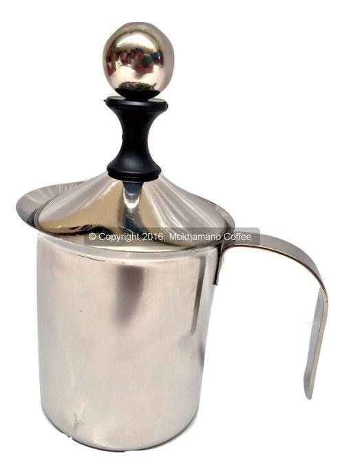 Subron Stainless French Press/Tea & Coffee Plunger Milk Frother 400ml