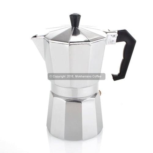 Coffee Pot /Teko Kopi/ Espresso Pot /Moka Pot Alumunium 1 Cup Ekonomis