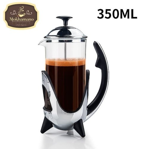SoW French Press / Plunger / Coffee Maker 350 ml for 3 Cups Black