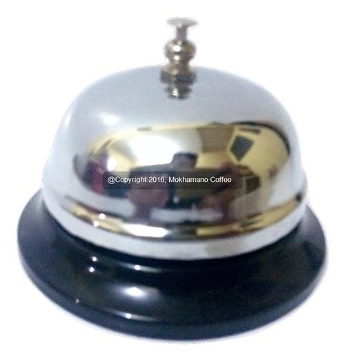 QJ Desk Bell/ Bell Meja / Bell Resepsionis & Coffee Shop Silver