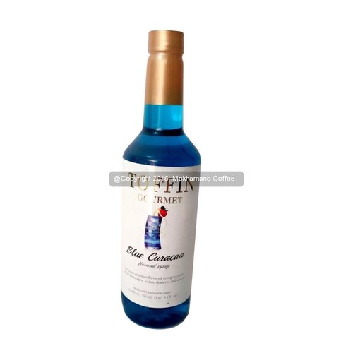 TOFFIN GOURMET Syrup Blue Curacao 750ml