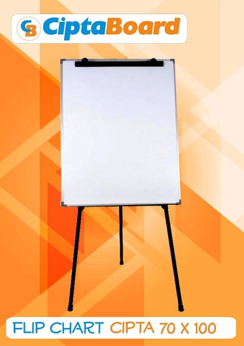 CIPTA BOARD Flipchart Uk 70 x 100cm Free Spp