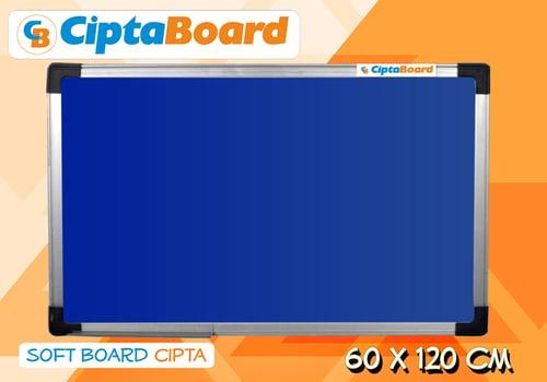 CIPTA BOARD Softboad Bludru 60 x 120cm