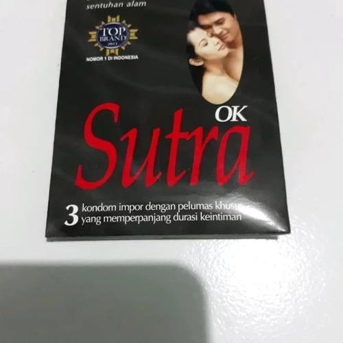 SUTRA Kondom Ok Hitam 3s