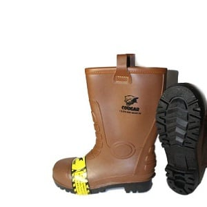 Cougar Sepatu Boot Gumboot Brown 1916