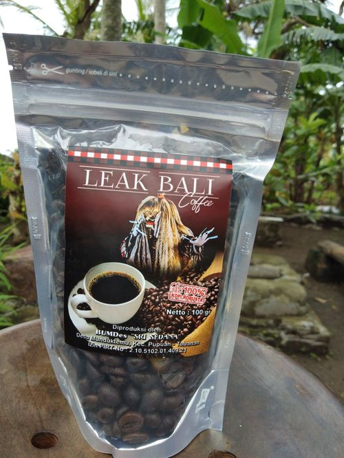 LEAK BALI COFFEE Robusta Coffee 100gr