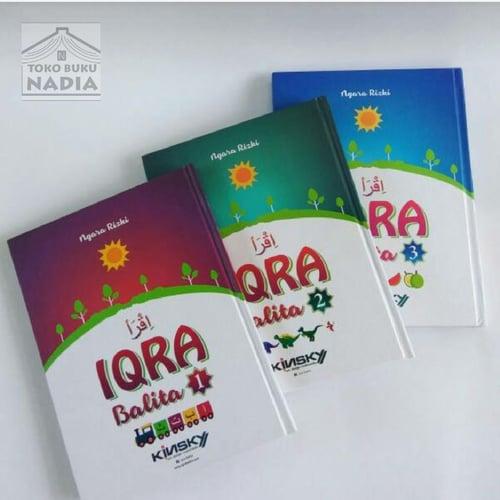 Buku Iqra Jilid 1 2 3 Best Seller