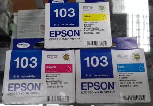 EPSON Cartridge 103 Cyan and Yellow