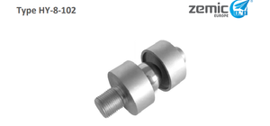 ZEMIC Mounting Ball for H8C Alloy Steel LCA-HY-8-102-2.5/2t