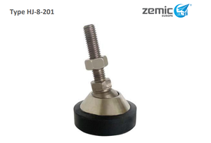 ZEMIC Mounting Foot For H8C Alloy Steel LCA-HJ-8-201-0.5/2t