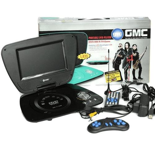 DVD Portable + TV GMC 808R 9inch - Murah