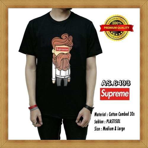 Kaos Distro Branded Supreme Premium AS.6493 | Supplier & Grosir