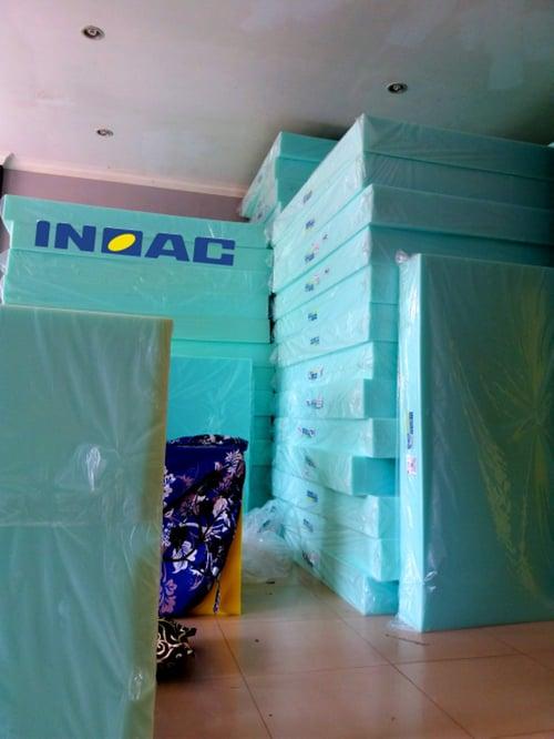 INOAC Kasur Lipat Busa 120 X 200 X 15 Cm No 4