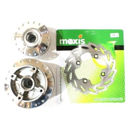 Tromol Set Crom SCT MX-NEW Depan + Belakang Disc