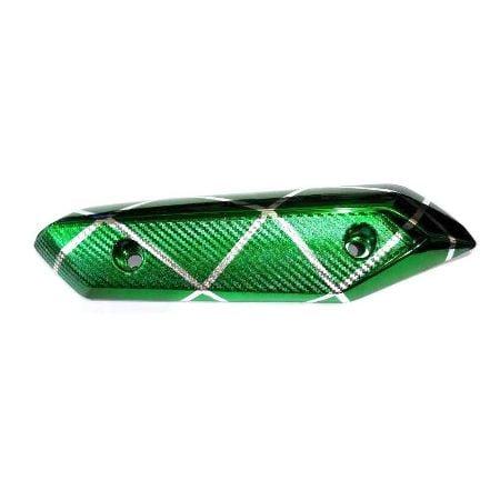 Tutup Knalpot Beat FI New Garis Green