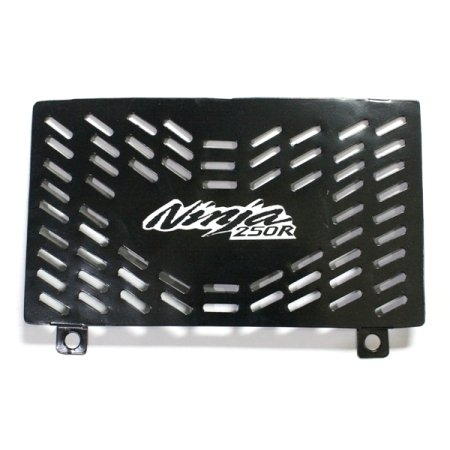 Tutup Radiator Ninja 250 R Black