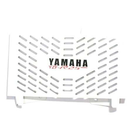 Tutup Radiator Yamaha R-25 White