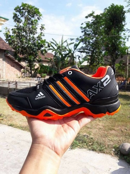 ADIDAS Sepatu Sport AX2 Hitam Orange