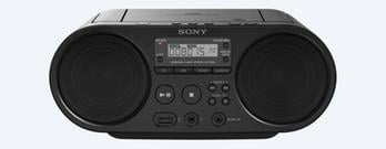 Sony CD Boombox Radio Pemutar CD Portabel ZSPS50