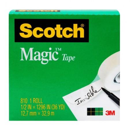 SCOTCH 810M8 Magic Tape 7100010925 3/4 X7.6m
