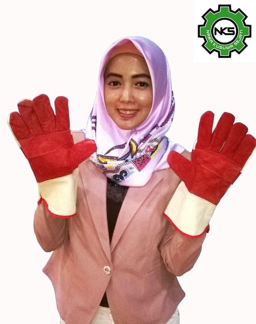 Sarung Tangan Kulit Safety