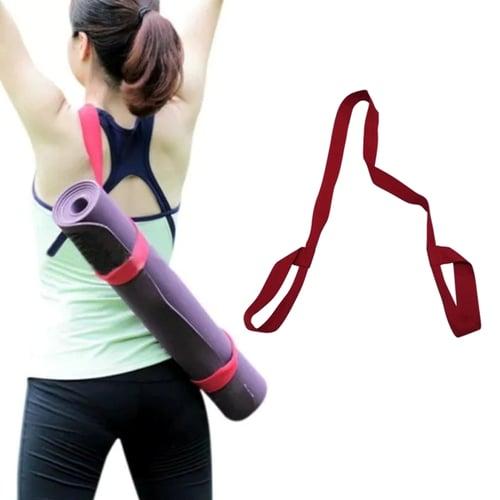 BODY GYM Yoga Mat Strap Merah